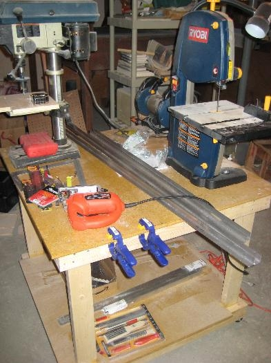 Rough cut angles with the jig saw
