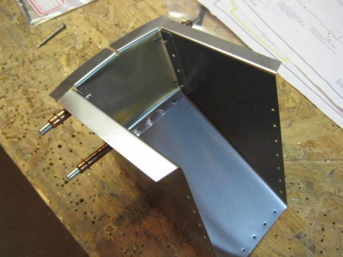 Fuel well. I finally got through the stainless.
