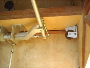 CONTROL ASSEMBLY AND RIGHT RUDDER PULLEY