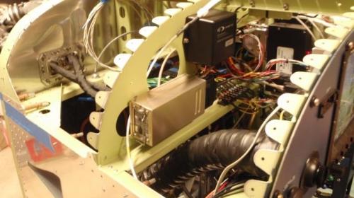 Transponder installed