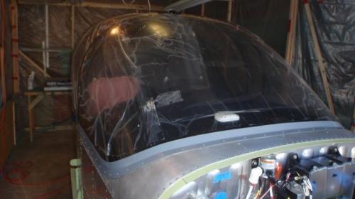 windshield installed