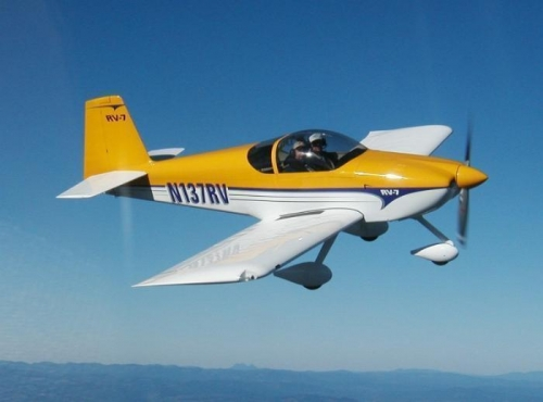 RV-7A in Flight