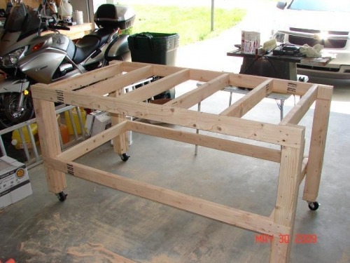 Work Bench Frame