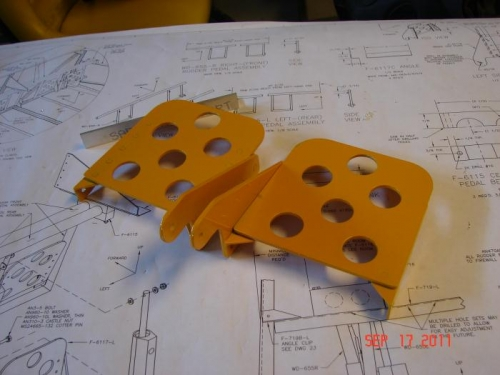 Powder Coated Brake Pedals