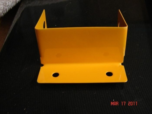 Pitot/AOA Bracket Powder Coated