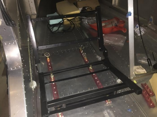 welded and fitted to rail sytem