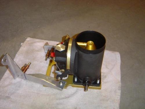 mixture bracket w/throttle body