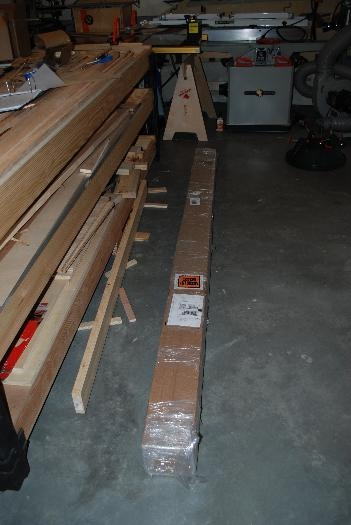 New shipment of spruce