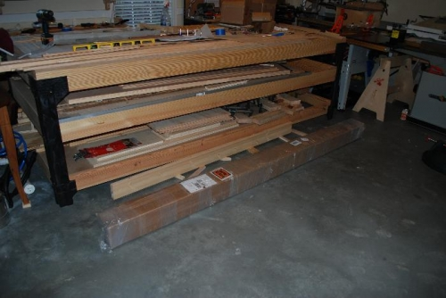New Shipment for wing spars