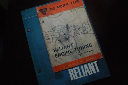 Reliant books on engine tuning
