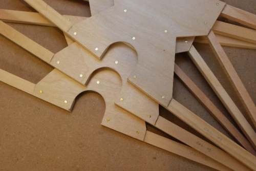 Aft ribs opening finished sanded