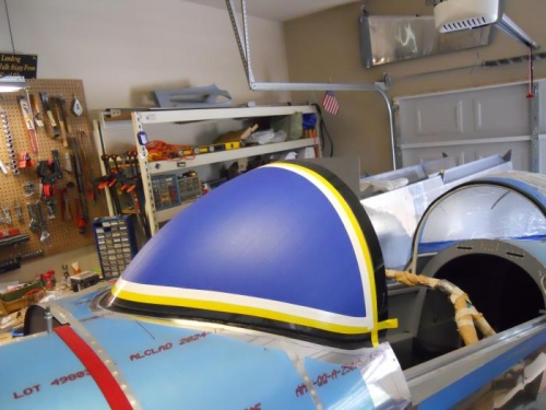 Windscreen almost ready for fairing work