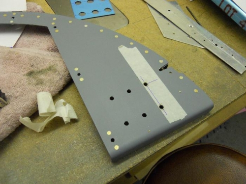 Holes drilled up to 1/4
