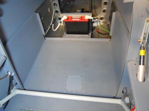 Finished rear floori install