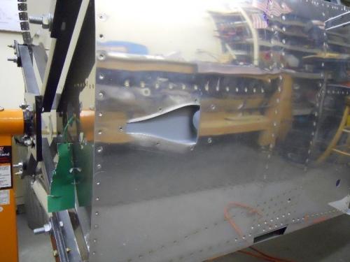 NACA vent installed