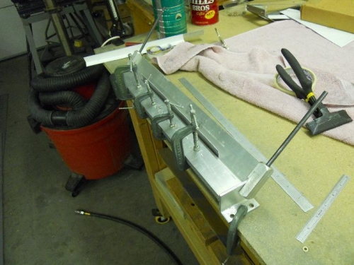 Forming attach angle with brake