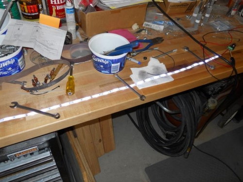 LED strip-on low