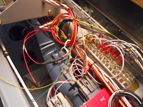 Butt splice power wires