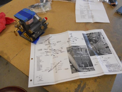 Studying servo and brackets