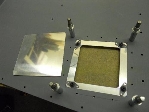 Determining location of nutplates