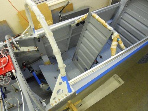Install roll bar and interior stuff