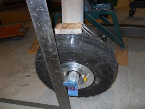 Set U-808 bracket perpendicular