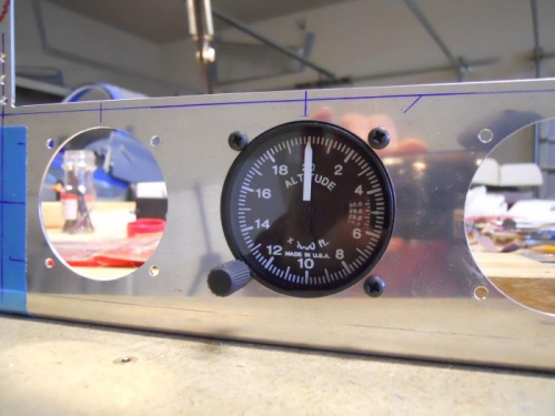 Test fit altimeter