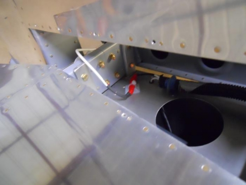 Secured trim wiring