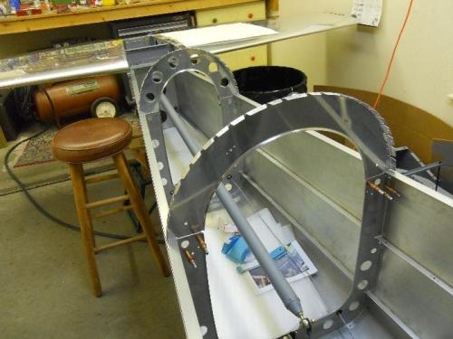 Upper bulkheads match reamed to lower bulkheads