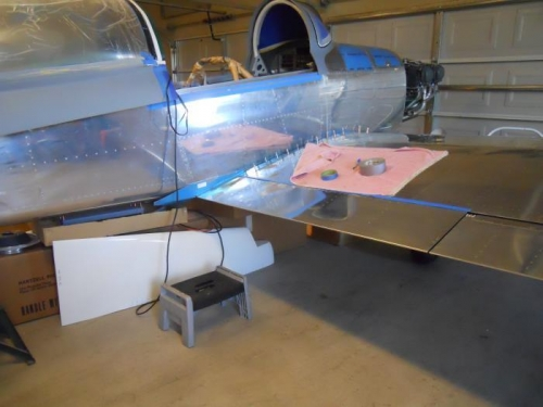 Flaps & ailerons in alignment