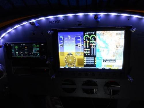 Fired up some avionics-cool