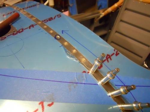 Instrument panel bulkhead-3 rivets done