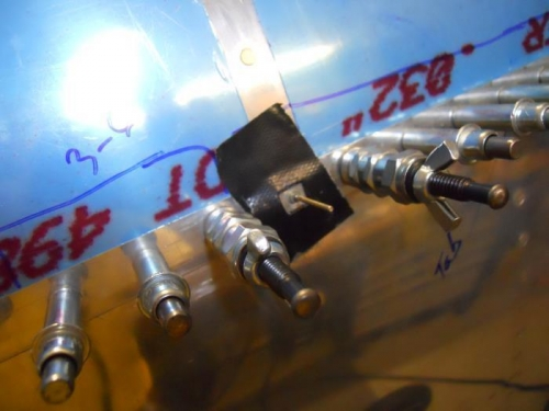 Installing Cherry Max rivet