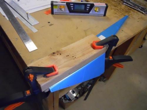 Bending right flap fairing