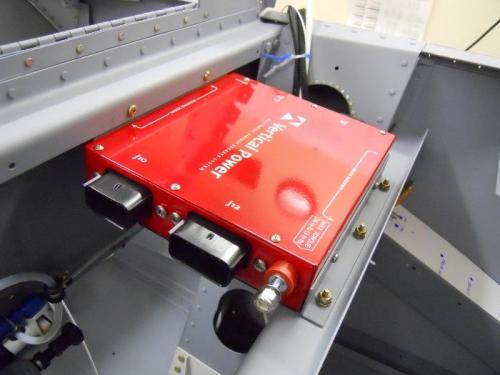 VP-X installed in the fuselage