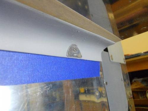 Tab for attaching lower fairing