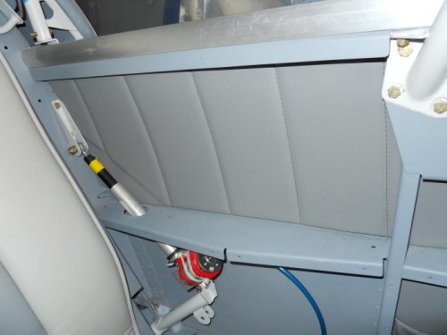 Panel installed