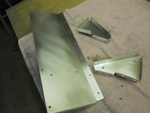 C/S nutplate attachment holes, prepped for primer