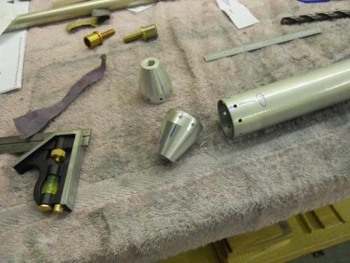 Bearing end caps & F841 tube
