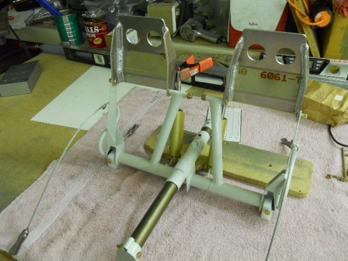 Need to attach brake pedals to brake cylinders