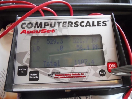 Screen shot of scales