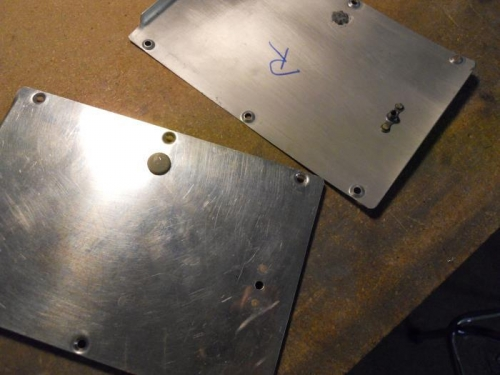 Added nutplates to secure fairings