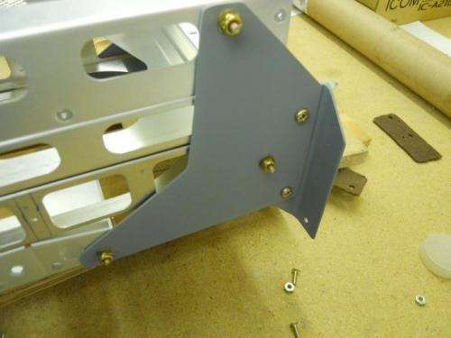 Right rear bracket