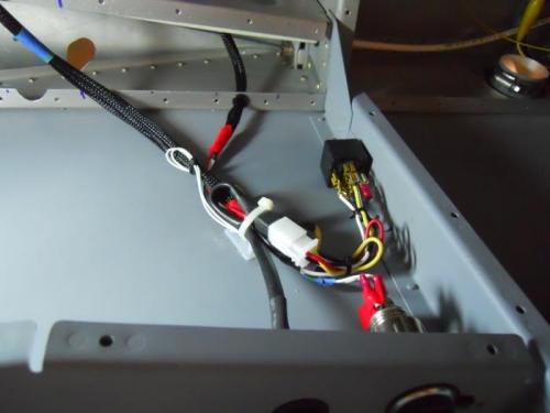 Rear seat wiring bundle
