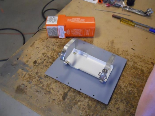 ELT and mounting plate