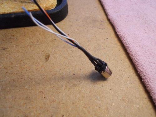 Mini din connector