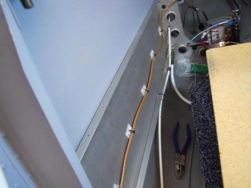 Coax antenna wiring