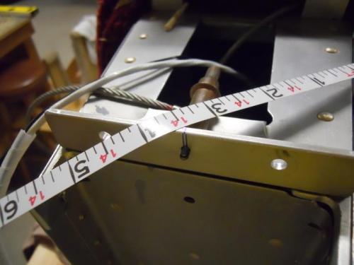 Measuring r. wing tip to tail