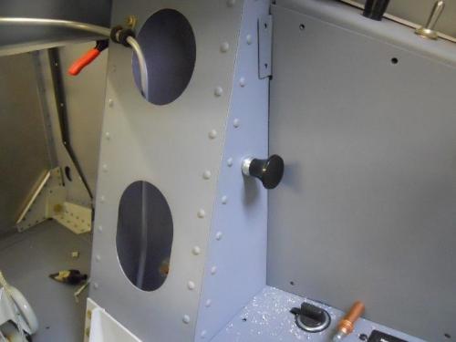 Heat control handle