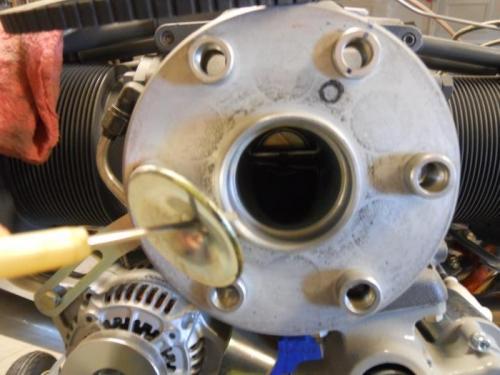 Removed sealing plug